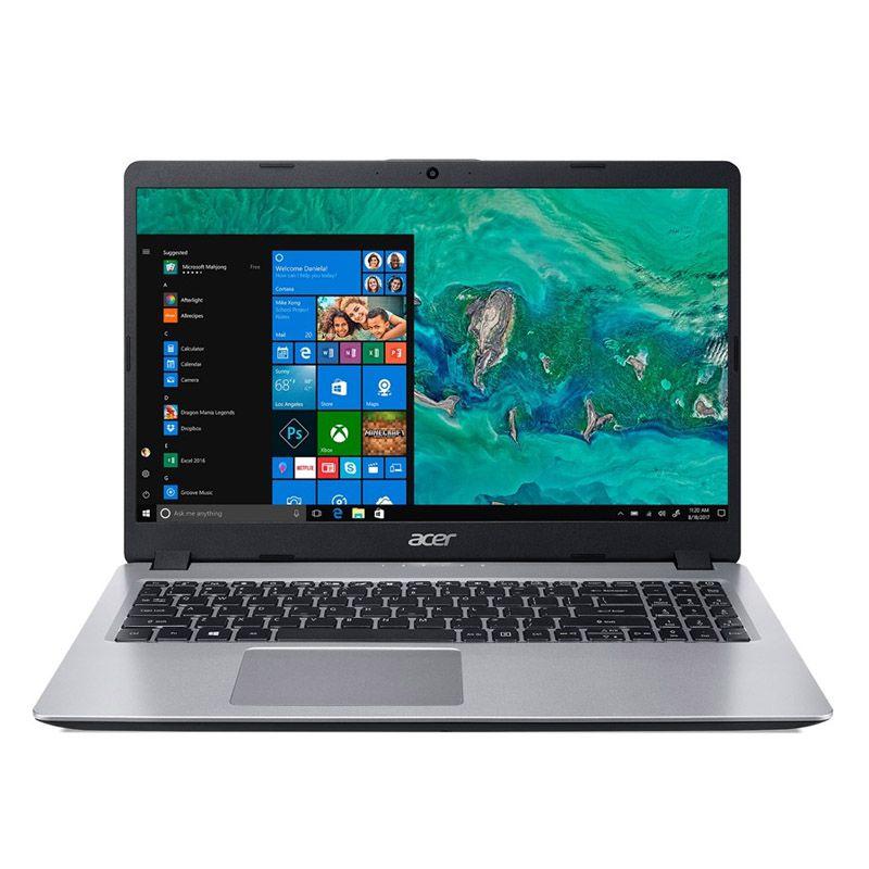 """Notebook Acer Ultrafino Aspire 5 - Intel Core i5 de 8ª geração, Memória 8GB, HD 1TB, GeForce MX130 de 2GB, Tela 15.6"""" HD - A515-52G"""