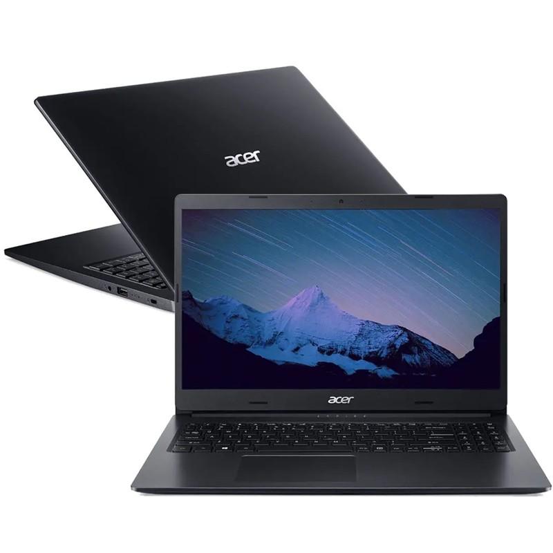 """Notebook Acer Aspire A315 AMD Ryzen 3, 8GB, SSD 240GB, Tela 15.6"""", Windows 10"""