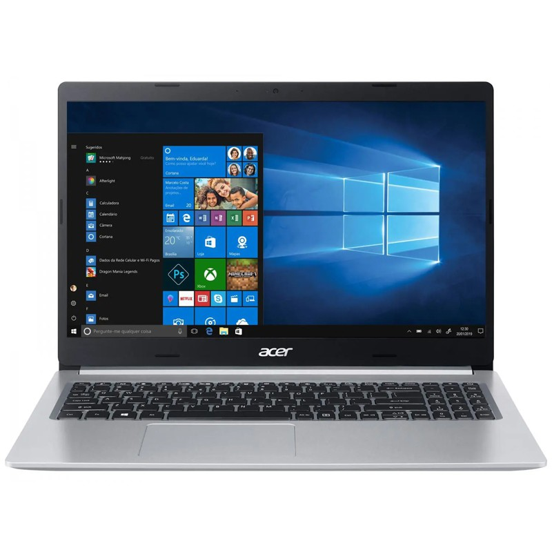 Notebook Acer Aspire A515 Intel Core i5 10ªG, 8GB, SSD 256GB, Placa de vídeo 2GB, Windows 10