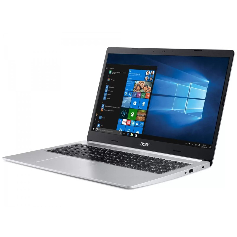 "Notebook Acer Aspire A515 Intel Core i5 10ªG, 8GB, SSD 512GB NVMe, Tela 15.6"" Windows 10"