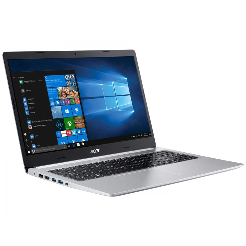 Notebook Acer Aspire A515 Intel Core i7 10ªG, 12GB, SSD 512GB, Placa de vídeo 2GB, Windows 10