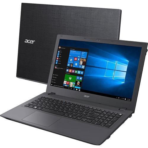 """Notebook Acer Aspire E5 Intel Core i5 de 7ª Geração, 8GB de memória, HD 1TB, Tela de 15.6"""", Windows 10 (seminovo)"""