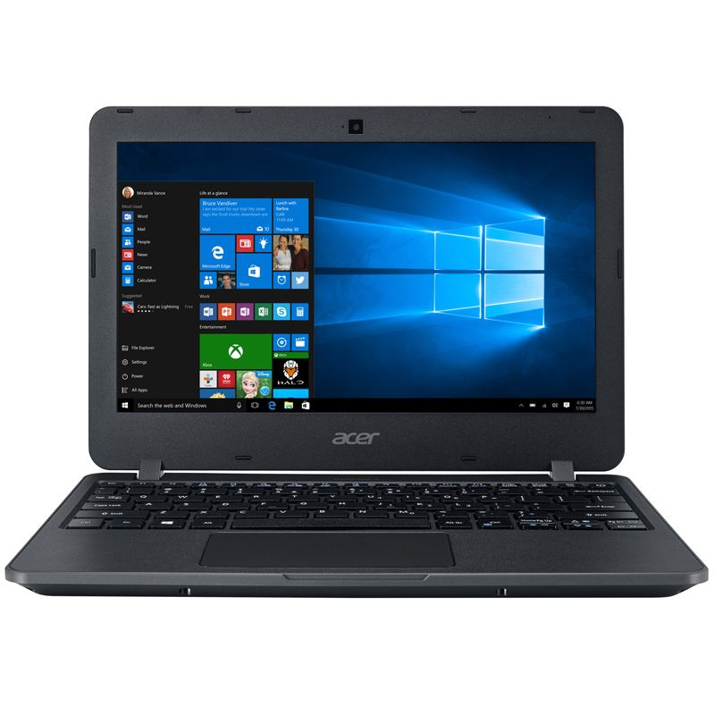 Notebook Acer TravelMate - Intel Dual Core, 4GB, SSD 128GB, WiFi AC, WiDi, tela 11,6
