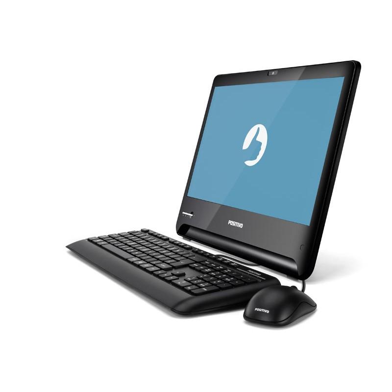 """computador ALL IN ONE Positivo U1500, Intel Core i5, 4GB de Memória, HD de 500Gb, HDMI, 5X USB 2.0, Tela LED HD de 18,5"""" - U1500"""