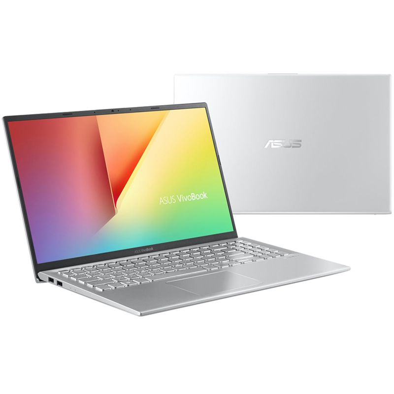 "Notebook Ultrafino Asus VivoBook 15 Intel Core i7 8ªG, 8GB, HD 1TB, Placa de Vídeo 2GB, Tela Full HD 15.6"" NanoEdge, Windows 10 - X512 Prata"