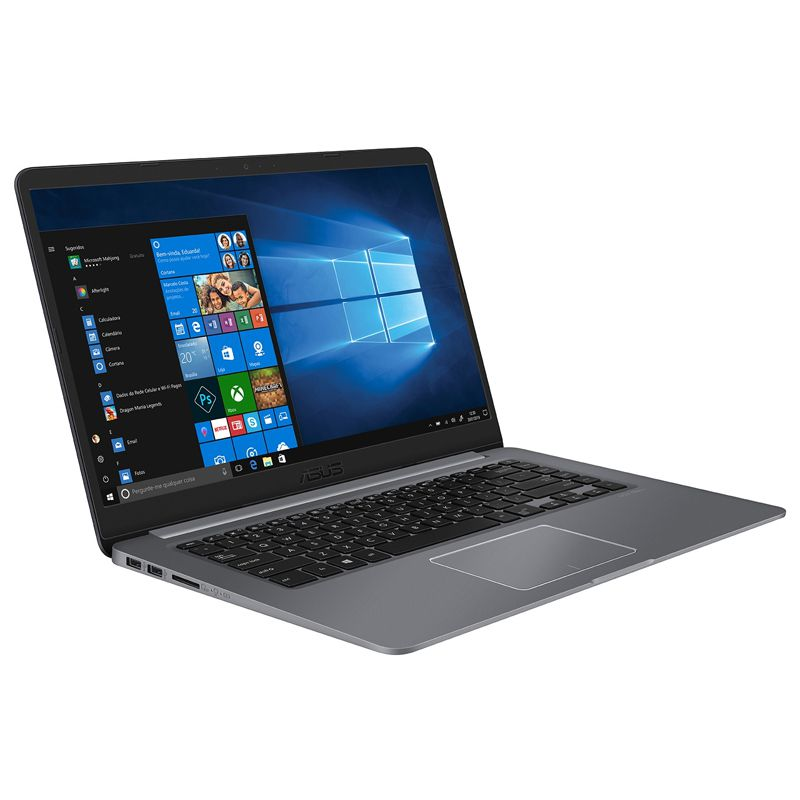 "Notebook Asus VivoBook X510 Intel Core i5 8ªG, 8GB DDR4, SSD 120GB + HD 1TB, Tela 15,6"" Windows 10"