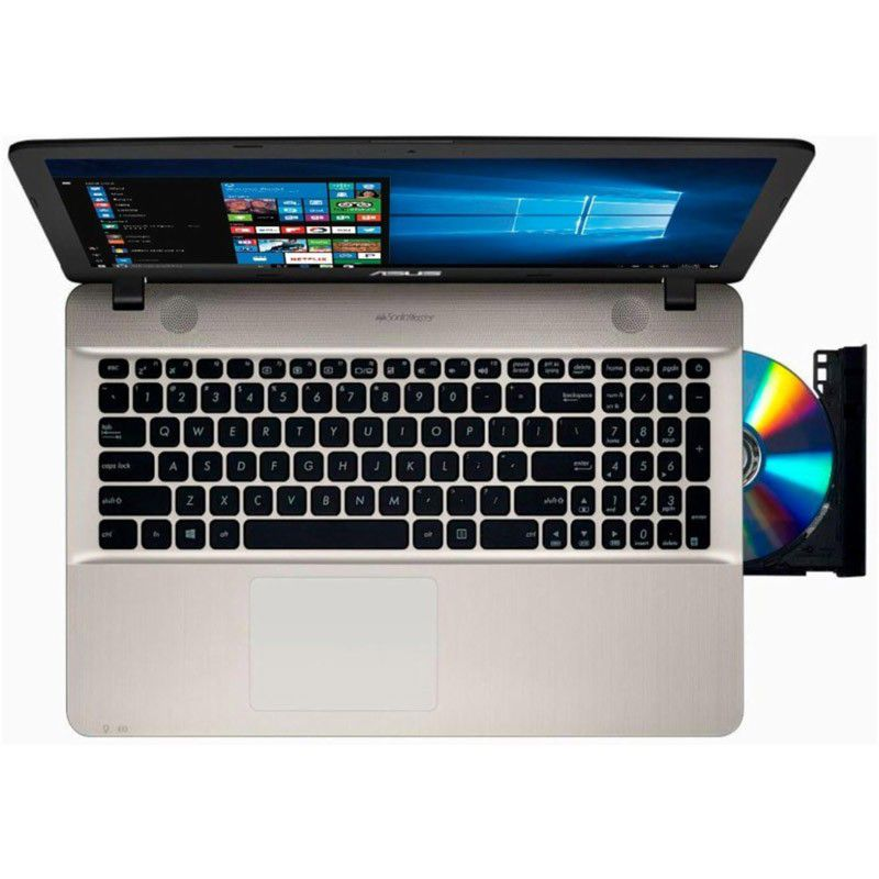"Notebook Asus VivoBook X541NA – Pentium Quad Core N4200, 4GB, HD 500GB, 15.6"""