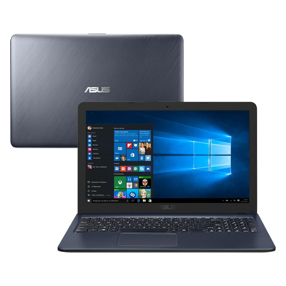 "Notebook Asus X543UA - Intel Core i3, 8GB, SSD 240GB, Tela 15.6"", Windows 10"