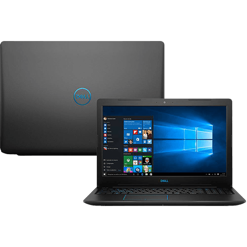 "Notebook Dell Gaming G3 - Intel Core i7 de 8ª Geração, Memória 8Gb + 16Gb intel Optane, HD 1Tb, GTX 1050TI de 4GB, Tela 15"" Full HD IPS"