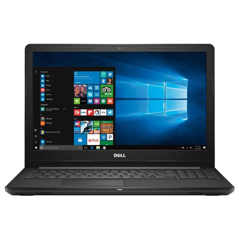 "Notebook Dell Inspiron 3573 - Intel Pentium Quad Core, 4GB, SSD 240GB, 15.6"", Win 10"