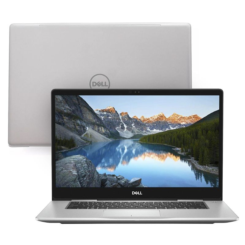 "Notebook Dell Inspiron 15 7000 - Core i7 8ªG, 16GB DDR4, SSD 128GB + HD 1TB, Placa de Vídeo GeForce 2GB, Tela 15.6"" Full HD"