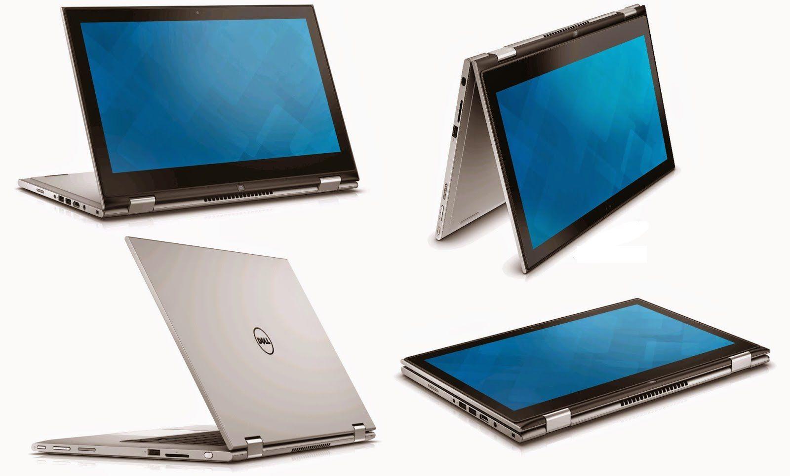 "Notebook Dell Inspiron 2 em 1 - Intel Core i7, 8GB de Memória, HD 500 + SSd 8GB, USB 3.0, Bluetooth 4.0, Tela 13.3"" Touchscreen Full HD Windows 10 - Seminovo"