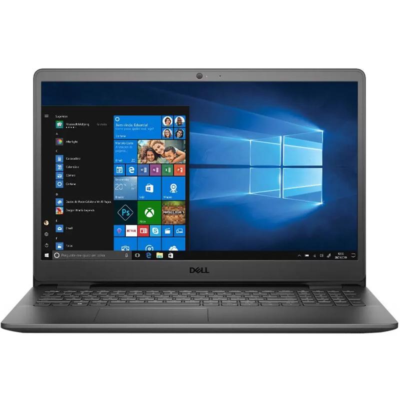 "Notebook Dell Inspiron 3501 Intel Core i3 10ª, 4GB, SSD 128GB NVMe + HD 500GB, 15.6"", Windows 10"