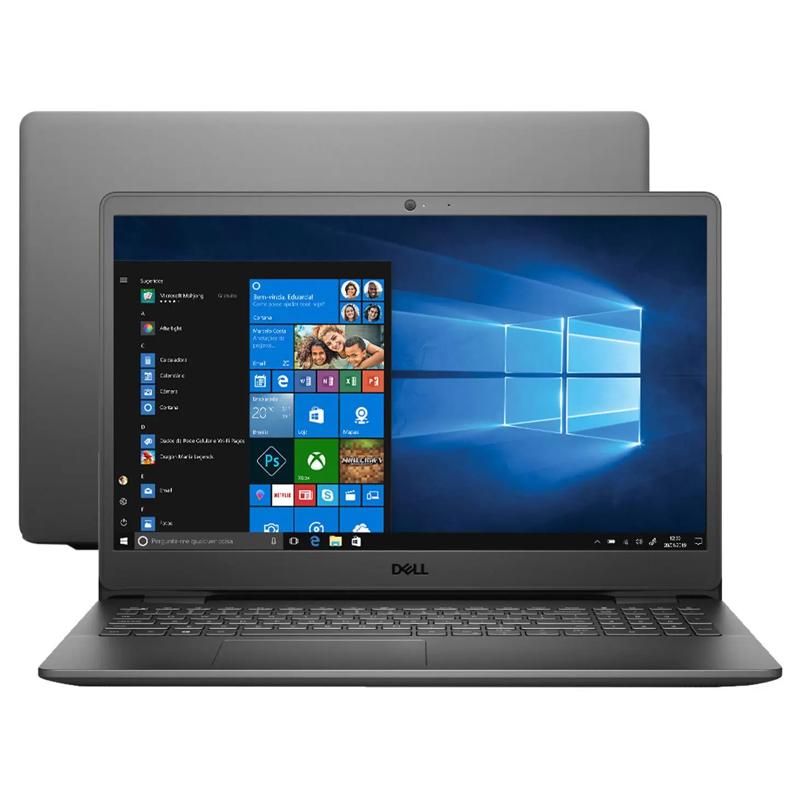 "Notebook Dell Inspiron - Intel Core i7 11ªG, 16GB, SSD 256GB NVMe, Placa de vídeo 2GB, 15.6"", Windows 10"