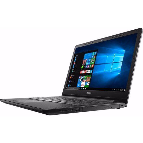 """Notebook Dell Inspiron 3567 - Intel Core i3 de 7ª Geração, 6GB de memória, SSD de 120GB, Tela de 15.6"""", DVD, Windows 10 - I3567-3629BLK-PUS"""