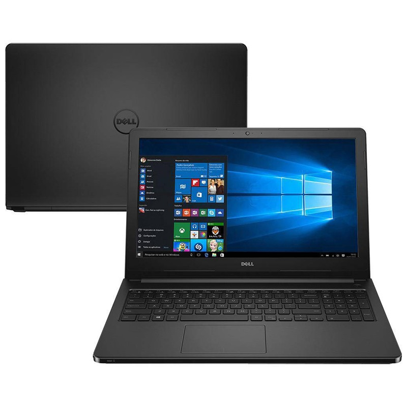 Notebook Dell Inspiron 5566 - Intel Core i7, 8GB, HD 1TB, Tela 15.6