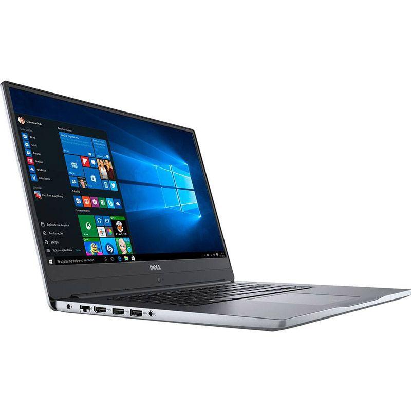 """Notebook Dell Inspiron 7000 - Intel Core i7 8ª Geração, Memória 16GB, HD de 1TB + SSD 128GB, GeForce de 4GB,  Tela Full HD 15.6"""" Borda infinita"""