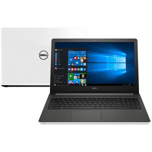 Notebook Dell Inspiron i15 - Intel Core i7, Memória de 8GB, HD de 1TB, Placa de vídeo AMD Radeon R7 de 2GB, Tela LED de 15.6