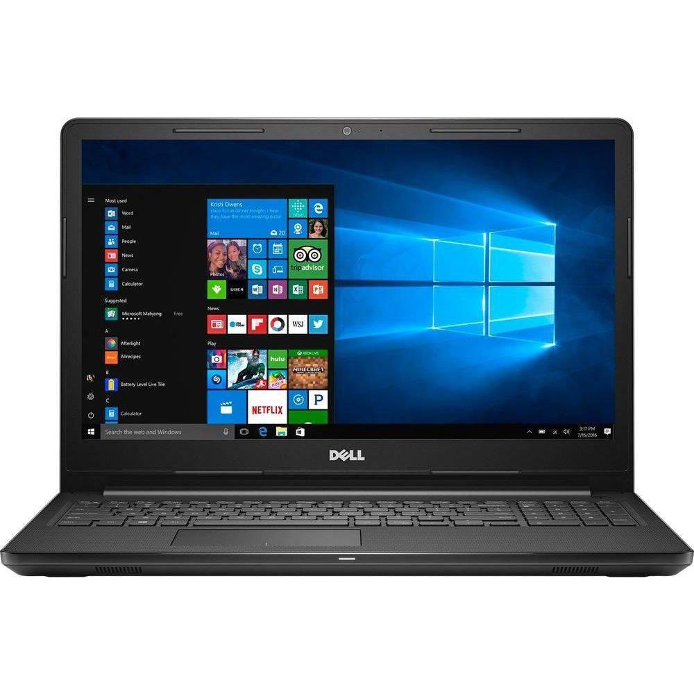 Notebook Dell Inspiron I3567- Intel core I5-7200, 8GB de Memória, HD de 2TB, 15.6