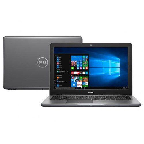 """Notebook Dell Inspiron - Intel Core i7 de 7ª geração, 8GB de memória, HD de 1TB, Placa de Vídeo AMD Radeon™ de 4GB, Tela HD de 15.6"""", Windows 10 - 15-5567"""
