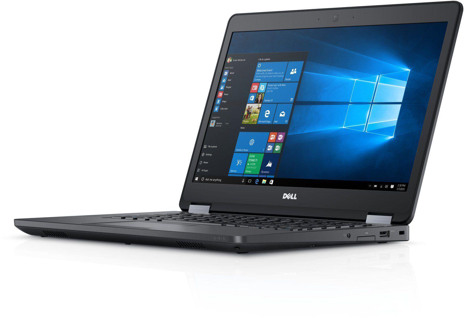 """Notebook DELL Latitude Ultrabook E5470 - Core i7 de 6°Geração,  DDR4 de 8GB,  SSD 256GB, Placa deVídeo Geforce 2GB,  Wireless AC, Bluetooth, Tela 14""""  (seminovo"""