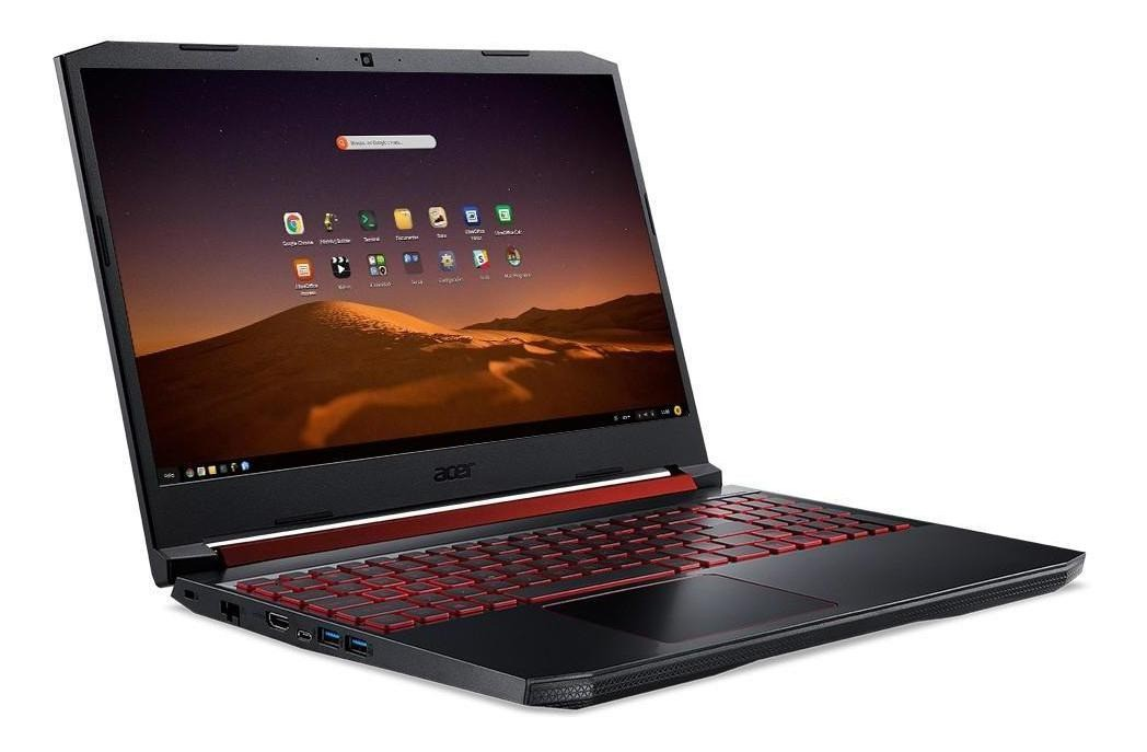 "Notebook Gamer Acer Aspire Nitro 5 Intel Core i5 9ª Geração, 8GB, SSD 128GB + HD 1TB, GeForce GTX 1650 4GB, 15.6"" IPS Full HD,  AN515"