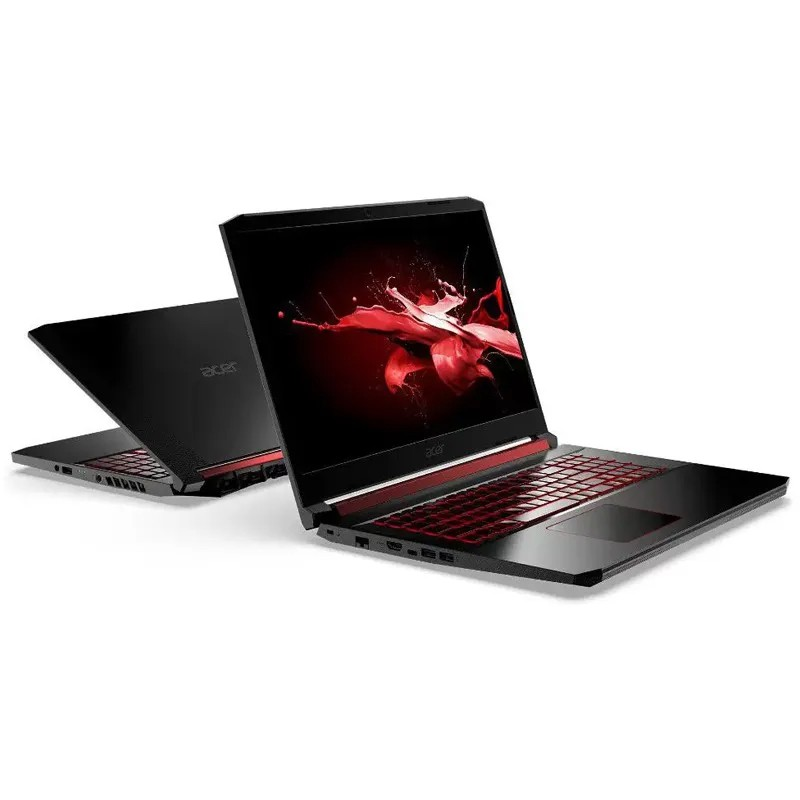 "Notebook Gamer Acer Nitro 5 AN517 Intel Core i5 9ªG, 8GB, SSD NVMe 128GB + HD 1TB, GeForce GTX 1650 4GB, 17.3"" IPS Full HD"