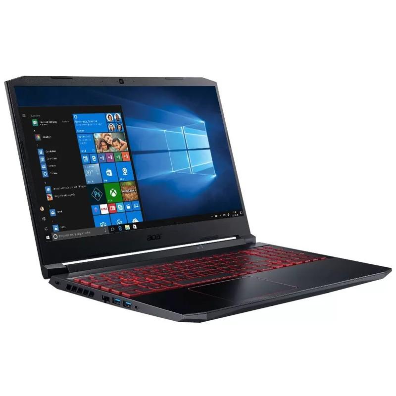 "Notebook Gamer Acer Nitro 5 Intel Core i5 10ªG, 16GB, SSD 512GB NVMe, GTX 1650Ti 4GB, 15.6"" Full HD, Windows 10 - AN515-55"