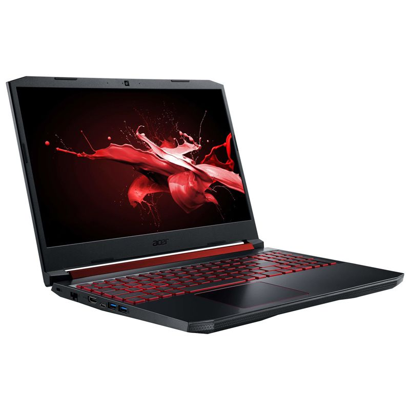 "Notebook Gamer Acer Nitro 5 Intel Core i7 9ªG, GeForce GTX 1650 4GB, 16GB, SSD 256GB NVMe + HD 1TB, 15.6"" Full HD - AN515-54"