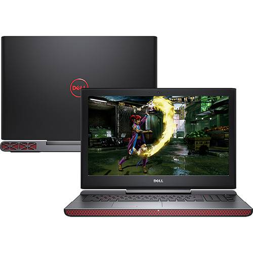 "Notebook Gamer Dell Inspiron 15 Gaming - Core i7, 16GB, HD 1TB, Geforce Gt1050TI 4GB 4GB, 15.6"" - 15-7567-30"