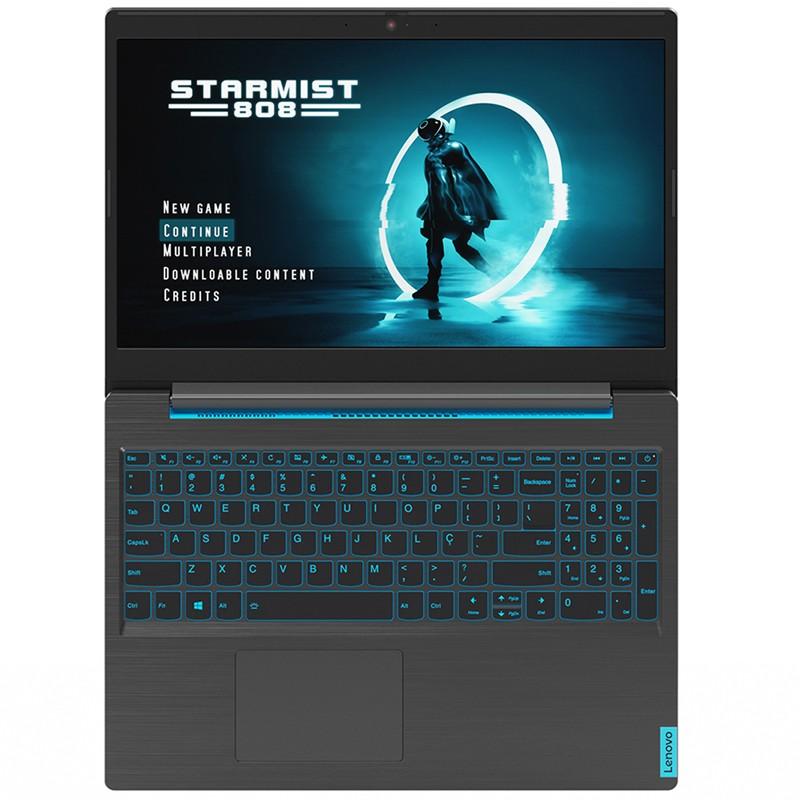 "Notebook Gamer Lenovo L340 Intel Core i5-9300HF, 8GB, SSD 120GB Nvme + HD 1TB, GeForce GTX1050, 15.6"" Full HD, Windows 10"