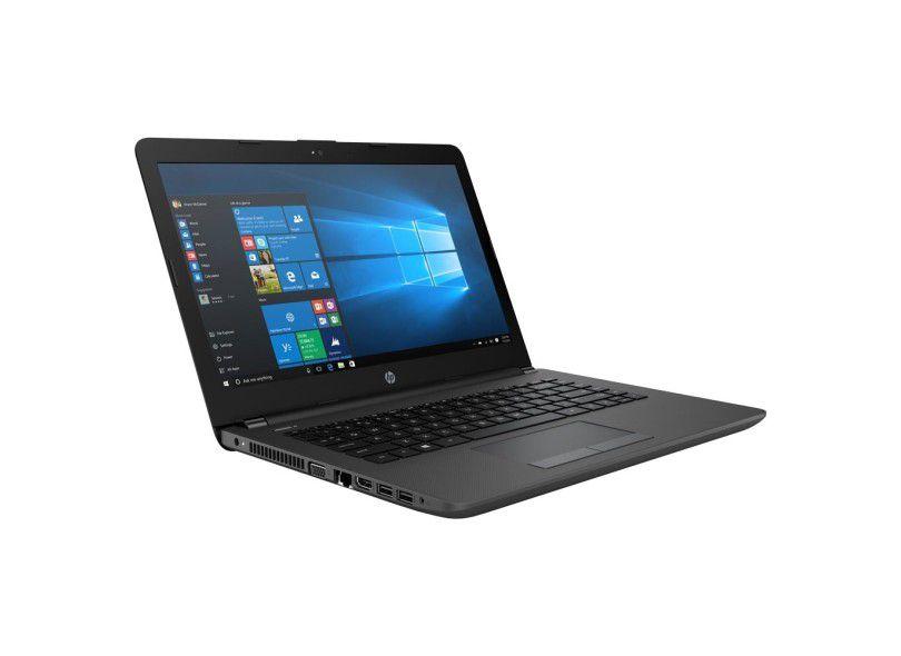"""Notebook HP 246 - Intel Core i5 de 7ª Geração, Memória de 8GB, Ssd 240Gb, Tela LED de 14"""" e Windows 10 PRO"""
