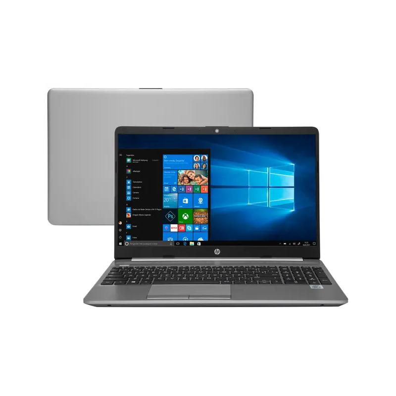 "Notebook HP 250-G8 i5 10ºG, Memória 8GB, SSD 256GB, Tela LED 15.6"", Windows 10"