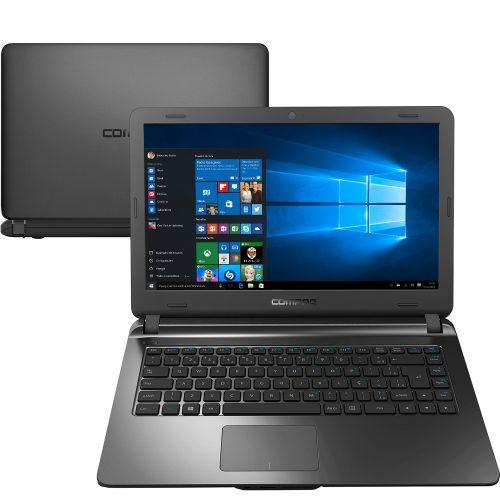 """Notebook HP Compaq Presário CQ27 - Intel Core i3, 4GB de Memória, Ssd 240GB, HDMI, Leitor de Cartões, Tela de 14"""""""