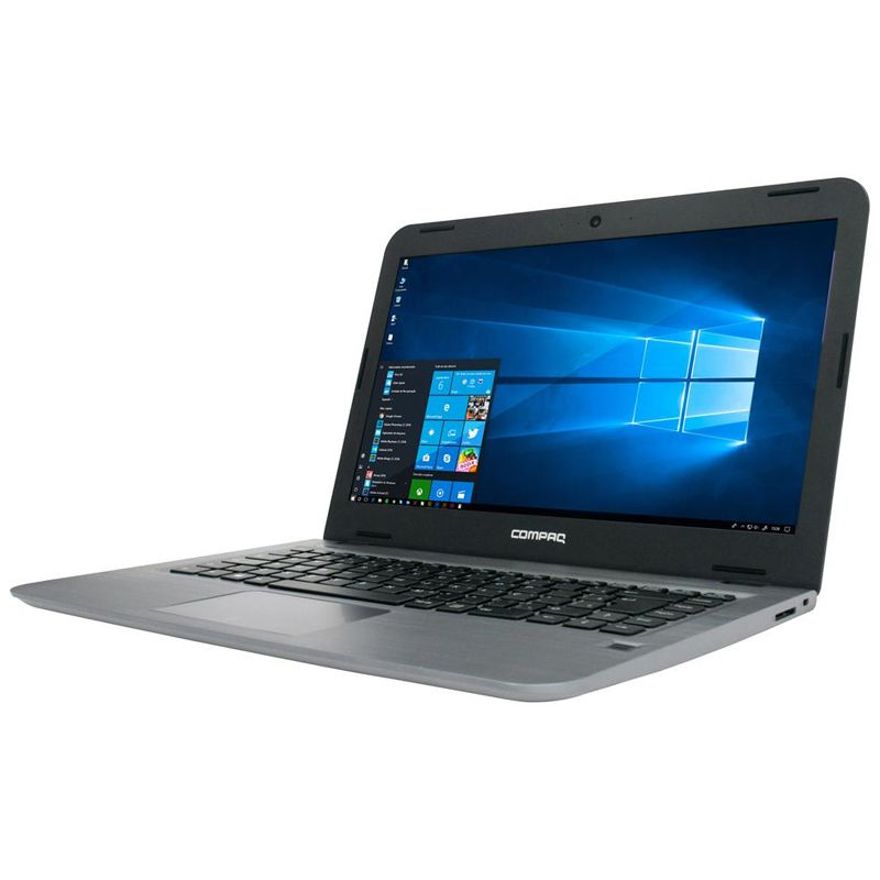 "Notebook HP Compaq Ultrafino CQ17 - Intel Dual Core, 4GB, SSD 240GB, Tela 14"", Windows 10"