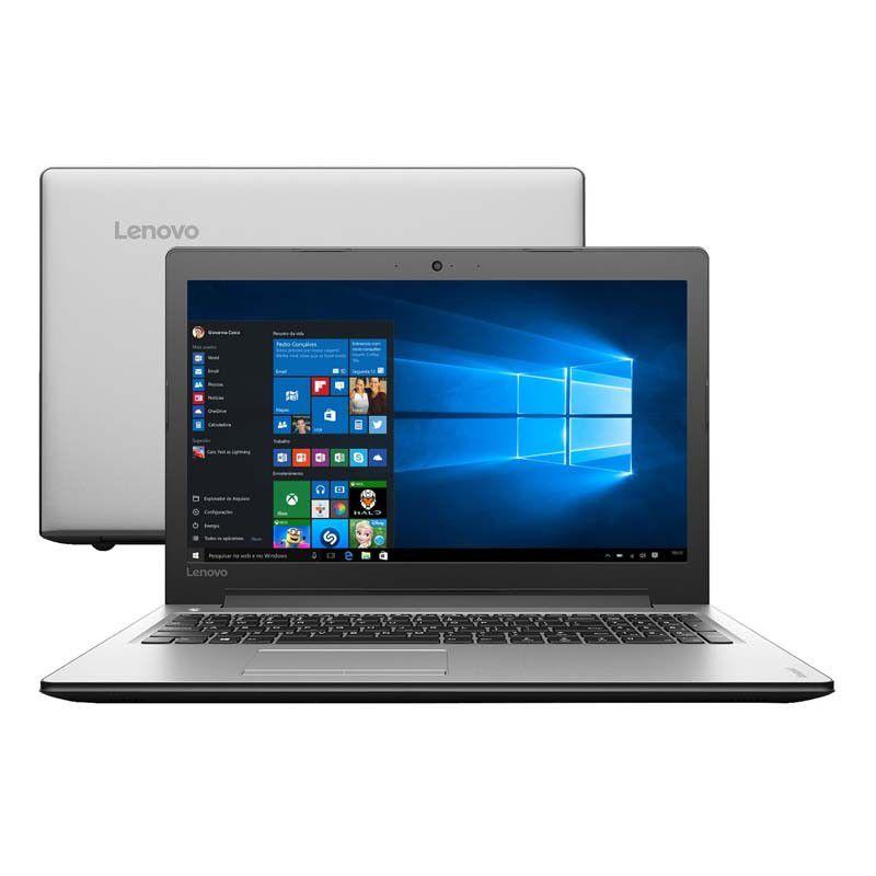 """Notebook Lenovo Ideapad 310, com Intel Core i5 de 6ª Geração, 8GB de Memória, HD de 1TB, Wireless AC, Tela de 15.6"""", Windows 10"""