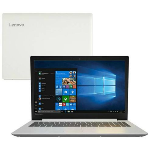 "Notebook Lenovo IdeaPad 330 Intel Core i5 8ªG, 8GB, HD 1TB, Tela 15.6"", W10, Branco Seminovo"