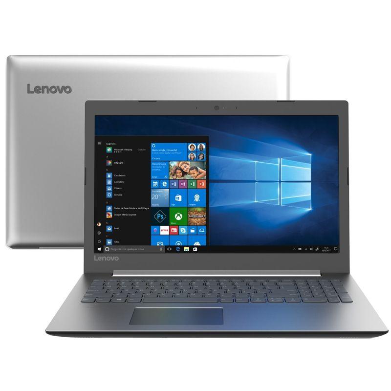 "Notebook Lenovo IdeaPad 330 Intel Core i7 8ªG, 8GB, SSD 480GB, Placa de Vídeo 2GB, Tela Full HD 15.6"", W10, Cinza"