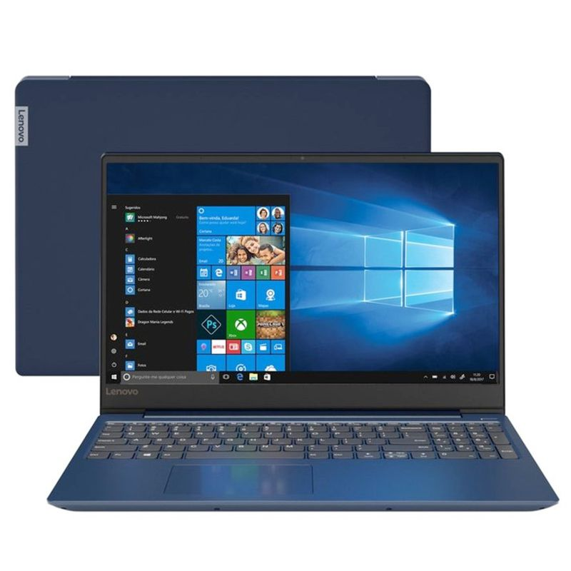 "Notebook Lenovo IdeaPad 330S Intel Core i7 8ªG, 8GB, SSD NVMe 128GB + HD 1TB, Placa de Vídeo 2GB, 15.6"", W10"