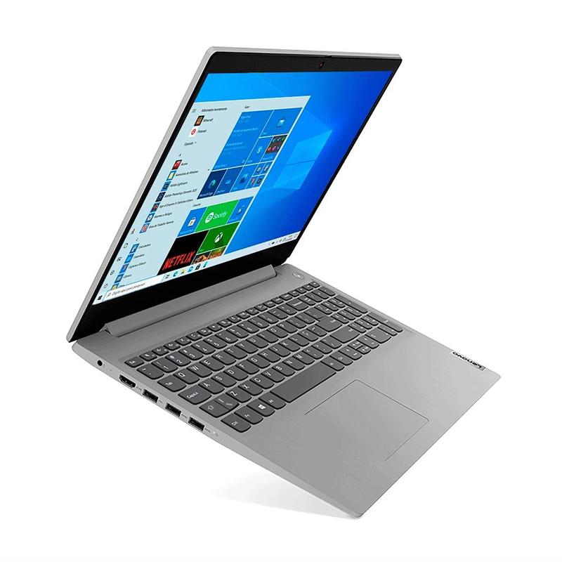 "Notebook Lenovo Ideapad 3I Intel Core i5 10ªG, 8GB, SSD de 256GB, Tela 15.6"" Windows 10"
