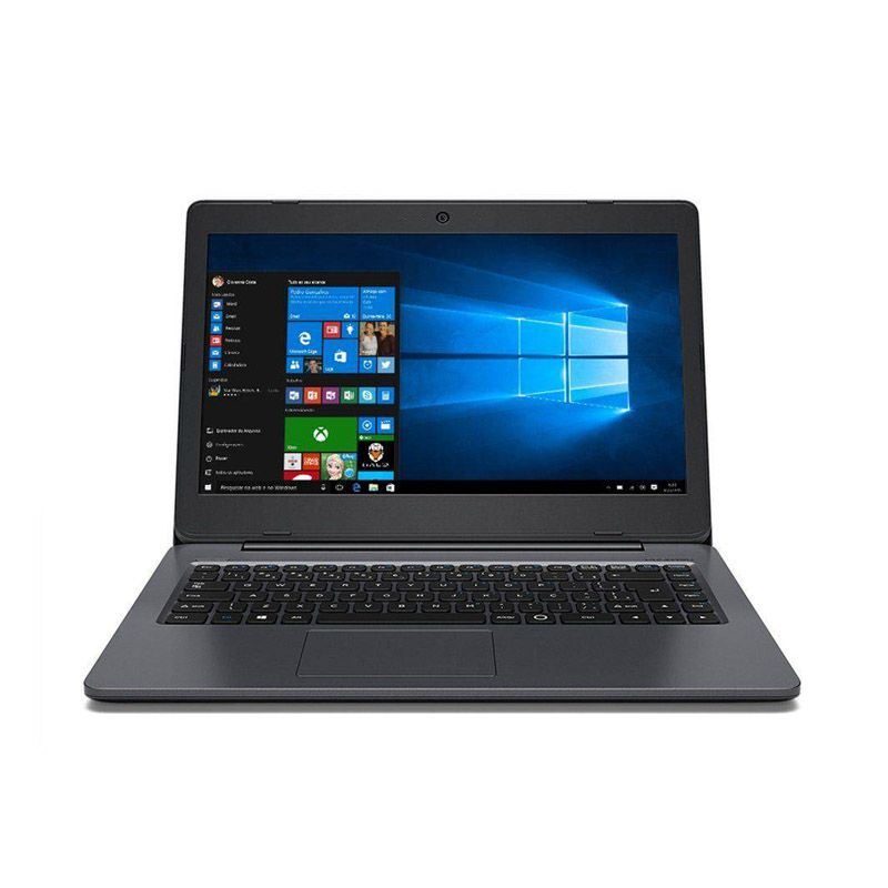 "Notebook Positivo Master N140i - Intel Core i5, 8GB, HD de 1TB, Tela de 14"", Win 10 - Cinza"