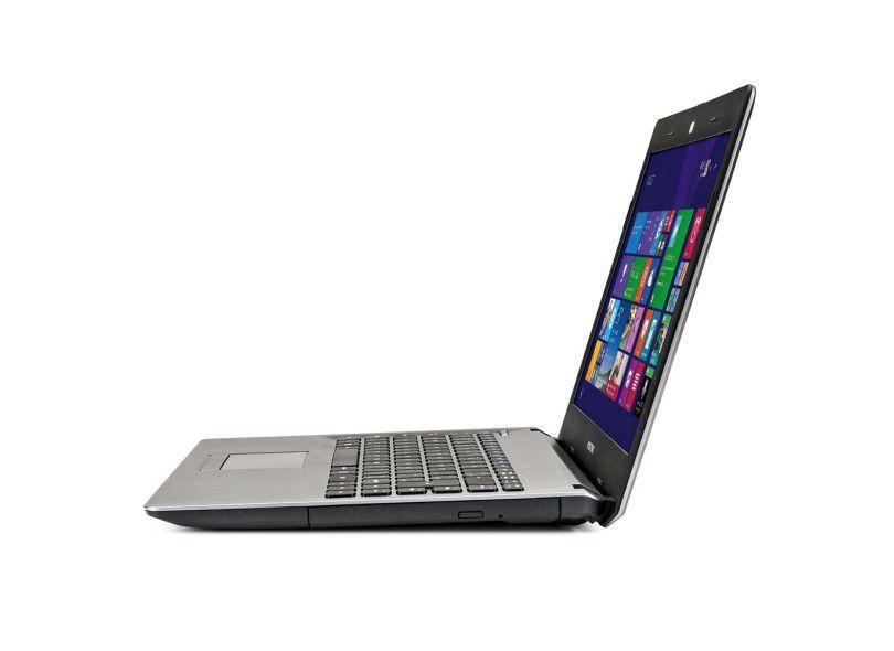 "Notebook Positivo Stilo - Intel Dual Core, 2GB de memória, HD de 320GB, Tela de 14"" - XRI3000"