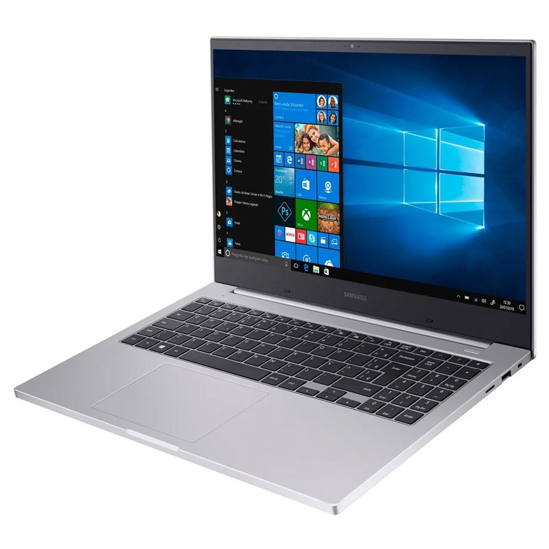 "Notebook Samsung Book E30 Intel Core i3 10ªG, 4GB, SSD 240GB, Tela Full HD 15.6"", Windows 10 - 550XCJ"
