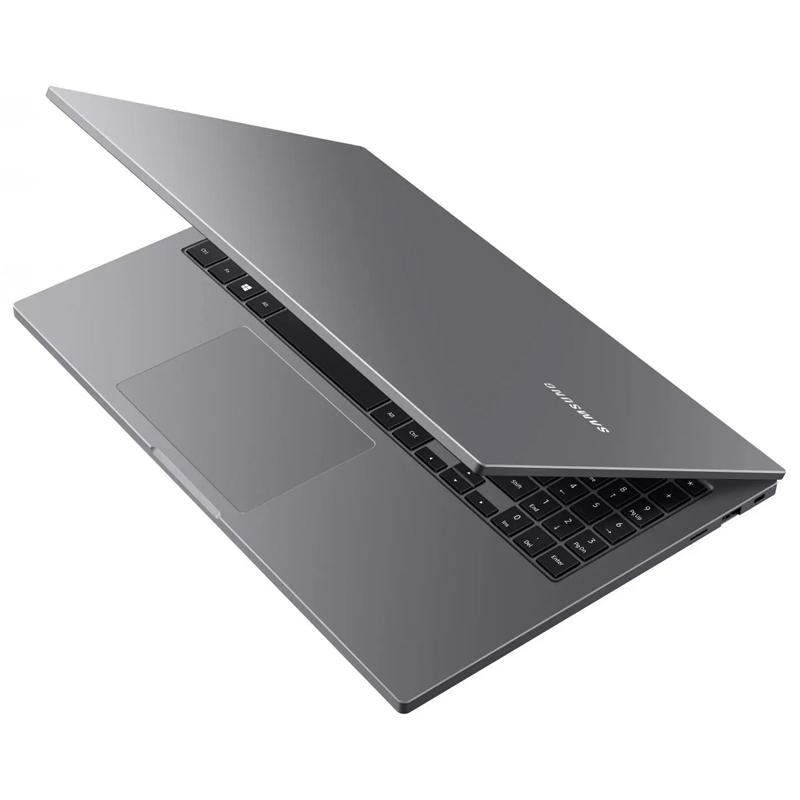 "Notebook Samsung Book Intel Dual Core, 4GB, SSD 128GB + HD 500GB, Tela Full HD 15.6"" - NP550XDZ Cinza Chumbo"