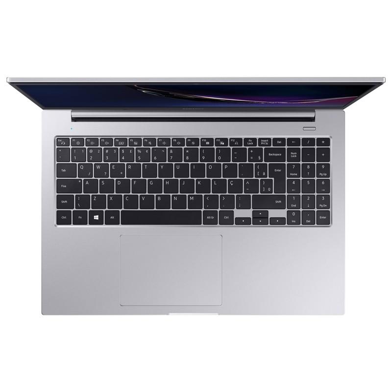 """Notebook Samsung Book X30 Intel Core i5 10ªG, 8GB, SSD 120GB + HD 1TB, 15.6"""" Windows 10 - NP550 Prata"""