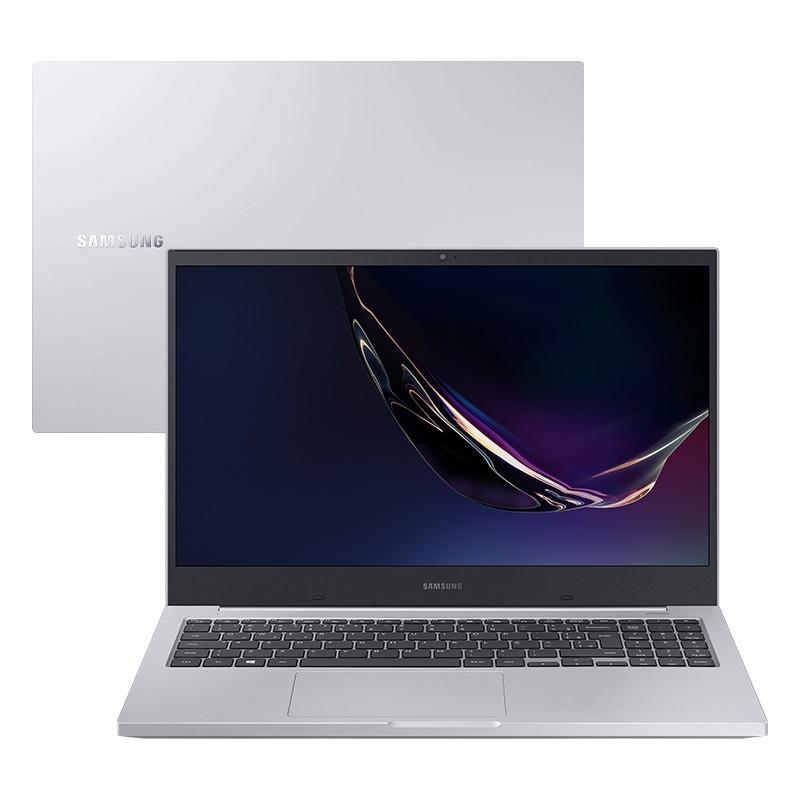"Notebook Samsung Book X40 NP550 Intel Core i5 10ªG, 8GB, SSD 240GB, Placa de Vídeo 2GB, Tela 15.6"", Windows 10 - Prata"