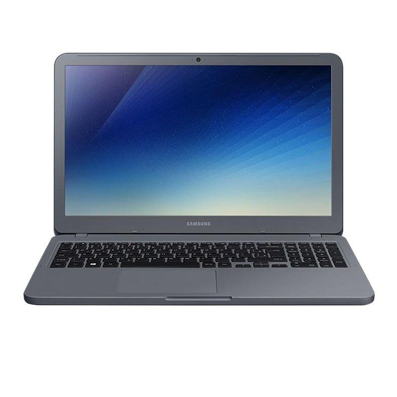"Notebook Samsung Essentials E20 - Intel Dual Core, 4GB, 500GB, Tela HD 15.6"" - Titanium, NP350XAA-KDA"
