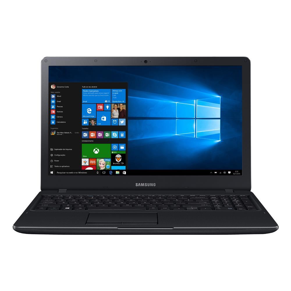 "Notebook Samsung Essentials E34 - Intel Core i3 de 6ª geração, Memória de 4GB, HD de 1TB, Tela Full HD de 15.6"", Windows 10, DDR4 - 300E5L-KF1"