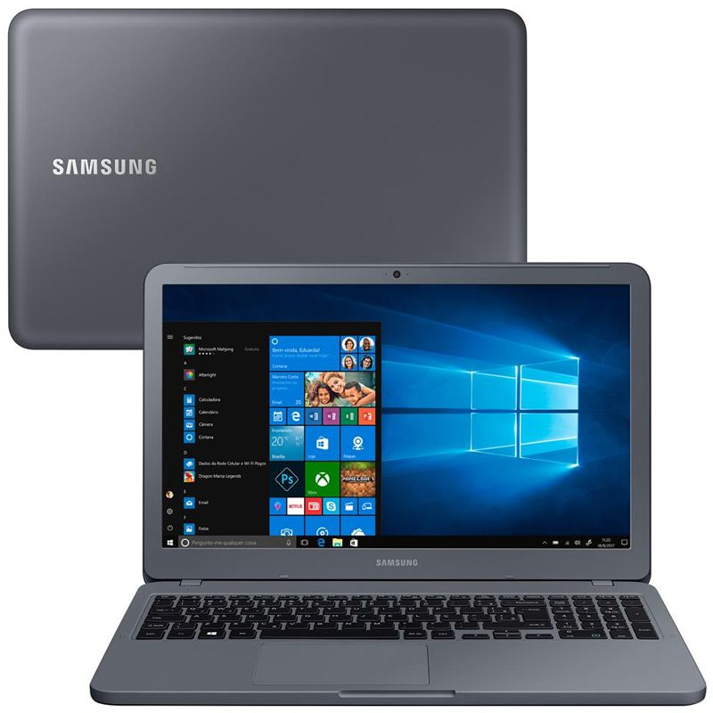 "Notebook Samsung Expert 350XBE Intel Core i5 8ªG, 8GB DDR4, HD 1TB, Placa de Vídeo 2GB, Tela 15.6"", Windows 10"