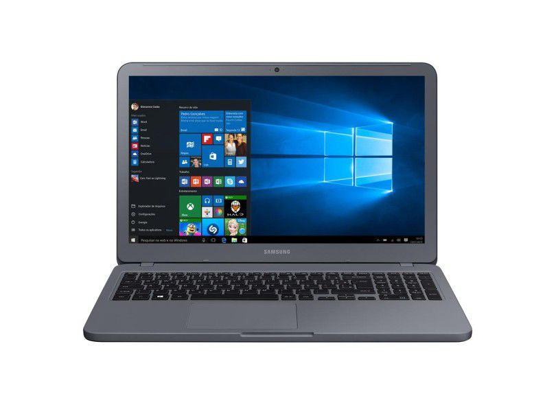 """Notebook Samsung  - Intel Core i5 8ª Geração, 8GB, Hd 1TB, Placa de Vídeo Geforce 2GB, Tela 15.6"""" - Titanium, NP350XAA"""